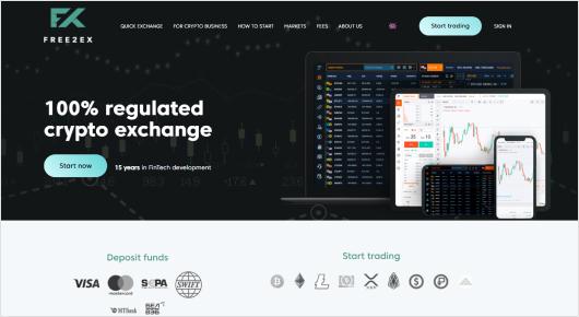 Free2Ex website