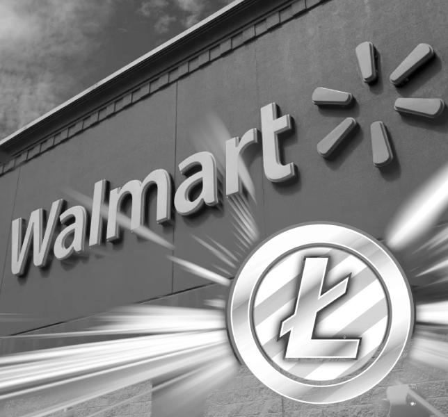 Litecoin and Walmart