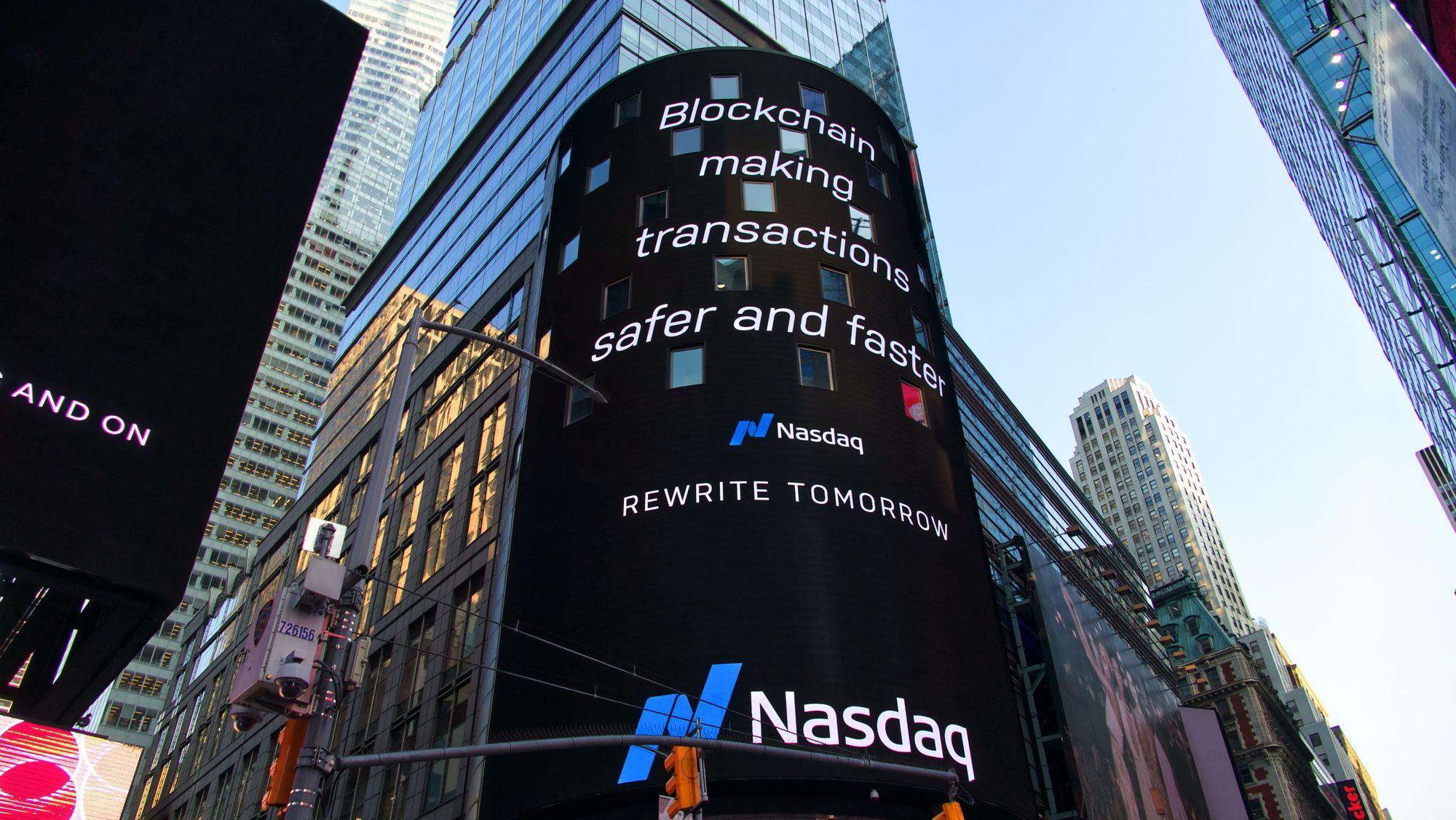 LED-экран в Нью Йорке